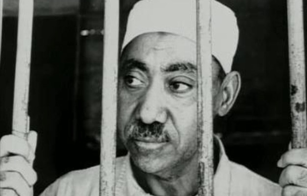 Sayyid-Qutb-behind-bars-in-an-Egyptian-prison